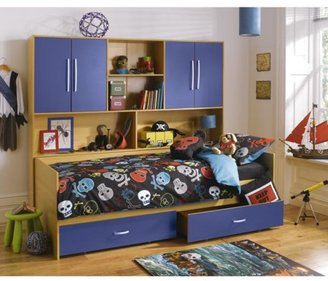 Kidspace Arizona Kids Single Bed + Over-bed Unit