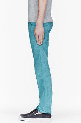 Diesel Teal Latigo Bay DARRON Jeans
