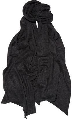 Chan Luu Fine-knit silk and cashmere-blend scarf