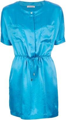 Balmain Pierre silk shirt dress