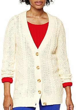 JCPenney jcpTM Cable Cardigan