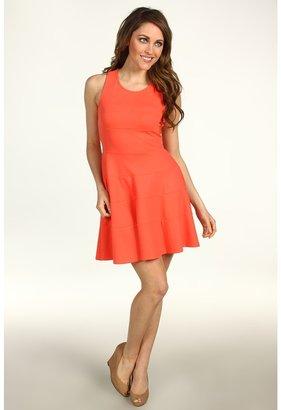 Brigitte Bailey Jillie Sleeveless Dress (Coral) - Apparel