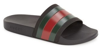 Men's Gucci 'Pursuit '72 Slide' Sandal $190 thestylecure.com