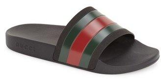 Men's Gucci 'Pursuit '72 Slide' Sandal $190 thestylecure.com