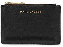 Marc Jacobs Top Zip Leather Multi Wallet