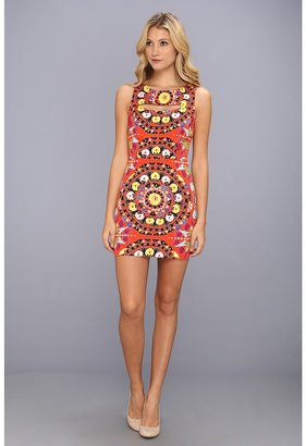Mara Hoffman Cutout Mini Dress (Suzani Poppy) - Apparel