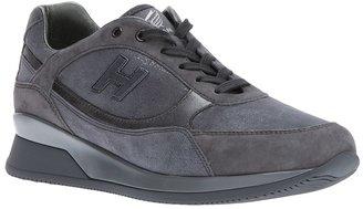 Hogan platform lace-up sneaker
