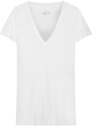 J.Crew Vintage slub cotton-jersey T-shirt