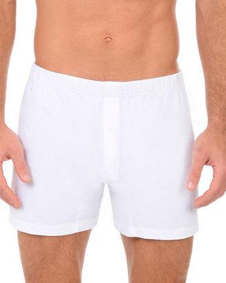 2Xist Pima Cotton Knit Boxer $28 thestylecure.com