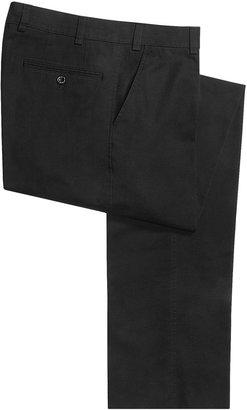 Hiltl Napa Giza No-Iron Pants - Flat Front, Comfort Waistband (For Men)