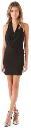 Bec & Bridge Piazza Drape Body Con Dress