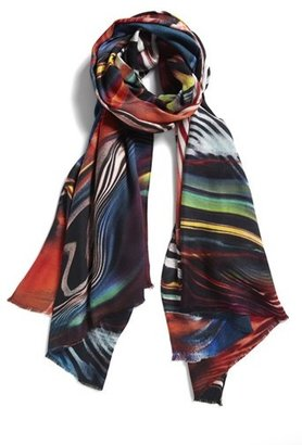 Nordstrom 'Color Ripples' Print Scarf