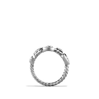 David Yurman Confetti Four-Row Ring with Diamonds