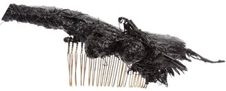 Colin Hare feather hair comb