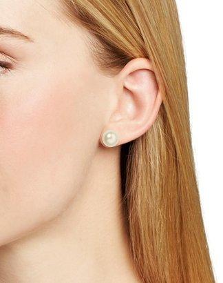 Carolee Faux Pearl Stud Earrings