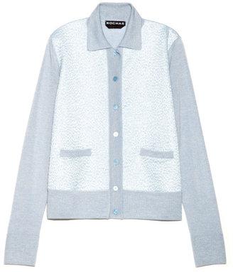 Rochas Preorder Frozen Cashmere Cardigan