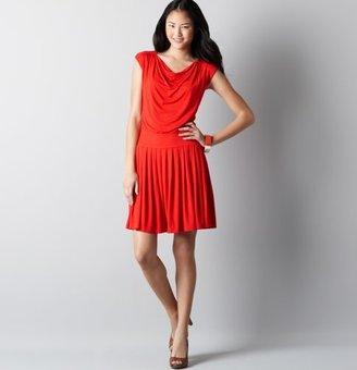 LOFT Modern Pleated Skirt Dress
