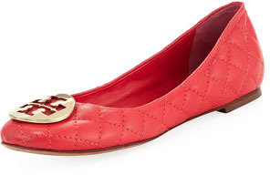 Tory Burch Quinn Quilted Ballerina Flat, Carnival Pink