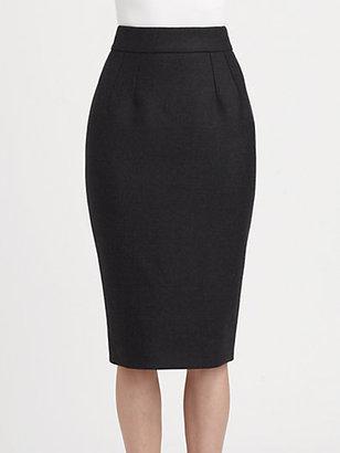 Dolce & Gabbana Classic Wool Jersey Skirt
