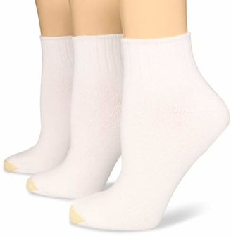 Gold Toe Women's Plus-Size 3 Pair Pack Softwear Shortie Socks