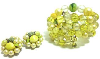 Dorothea's Closet 60s Bracelet & Clip Earrings