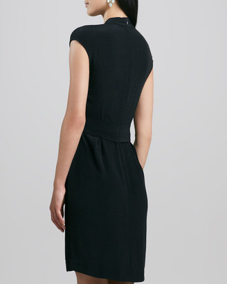 Kate Spade Villa Bow-Tie Waist Dress