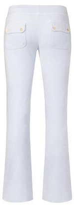 Juicy Couture Bootcut Pant in Bridal Velour