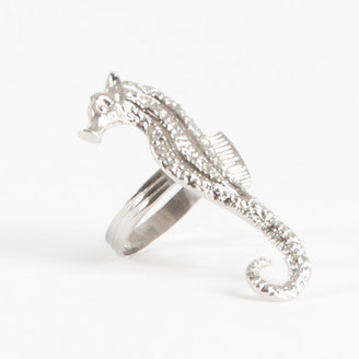 Saro Sea Horse Design Napkin Ring