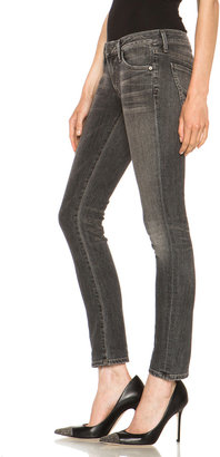 Citizens of Humanity Racer Low-Rise Skinny in Black Slash