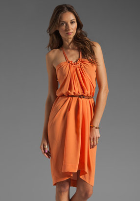 See by Chloe Belted Halter Dress