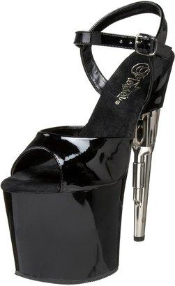 Pleaser USA Women's Bondgirl-709 Platform Sandal
