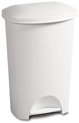 Container Store 11 gal. Step-On Trash Can