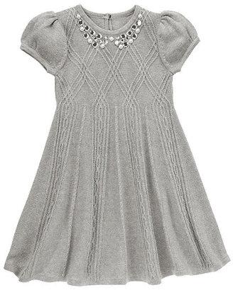 Gymboree Gem Collar Sweater Dress