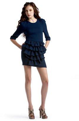 3.1 Phillip Lim Trailing Ruffle Dress