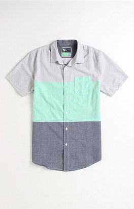 Modern Amusement Blockhead Short Sleeve Woven Shirt