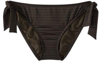 Mossimo Women's Mock Tie Swim Bottom -Olive
