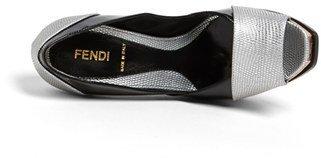 Fendi 'Fendista' Open Toe Platform Pump