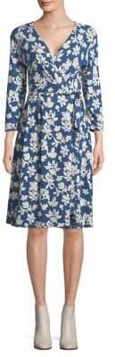 Max Mara Ursola Floral Wrap Dress