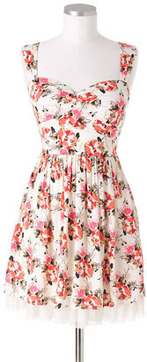 Delia's Open Back Floral Dress