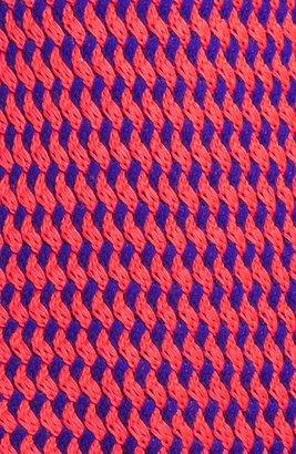 Maison Scotch Lattice Sweater