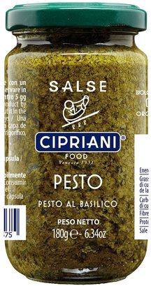 CIPRIANI Organic Pesto Al Basilico 180g