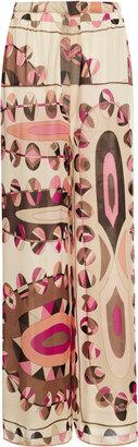 Pucci New York Vintage Printed Silk Ensemble
