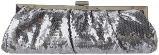 La Regale Slim Sequin Rouched On Frame 21613 Clutch