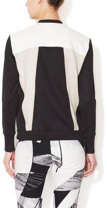 Helmut Lang Colorblocked Baseball Jacket