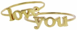 Jennifer Meyer You Statement Ring - Yellow Gold