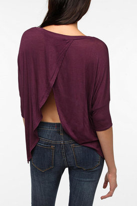 Urban Outfitters Daydreamer LA Tulip Back Tee