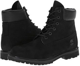 Timberland 6 Premium Boot (Olive Nubuck) Women's Lace-up Boots