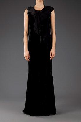 Nina Ricci Velvet Gown