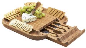 Picnic at Ascot Malvern Cheese Board Set (5 PC)