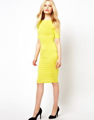 River Island 3/4 Sleeve Column Dress